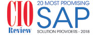 20 Most Promising SAP Solution Providers - 2018